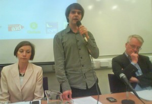 RD at Greenpeace hustings